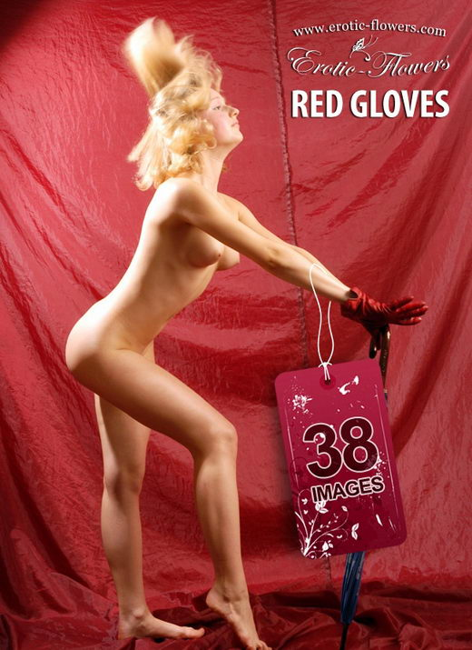 Greta - `Reg Gloves` - for EROTIC-FLOWERS