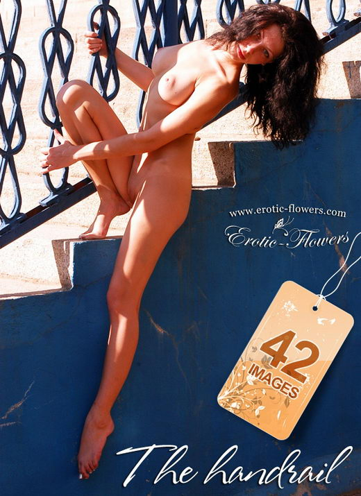 Sasha - `The Handrail` - for EROTIC-FLOWERS