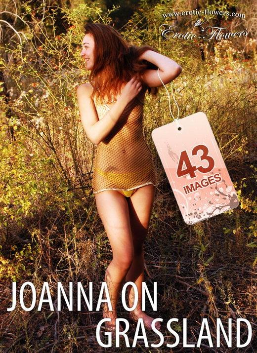 Joanna - `Joanna On Grassland` - for EROTIC-FLOWERS