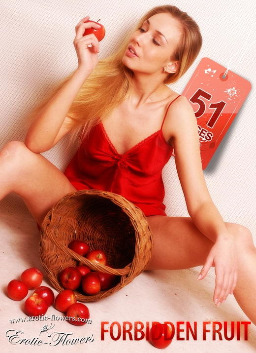 Katia - `Forbidden fruit` - for EROTIC-FLOWERS