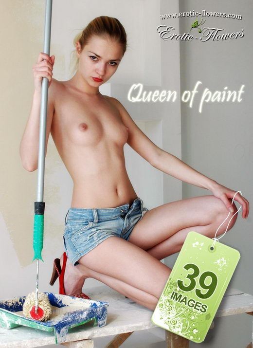 Carrie - `Queen of paint` - for EROTIC-FLOWERS