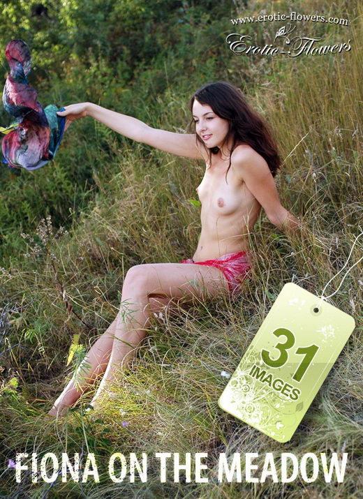 Fiona - `Fiona on the meadow` - for EROTIC-FLOWERS