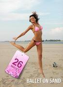 Natalie - Ballet on sand