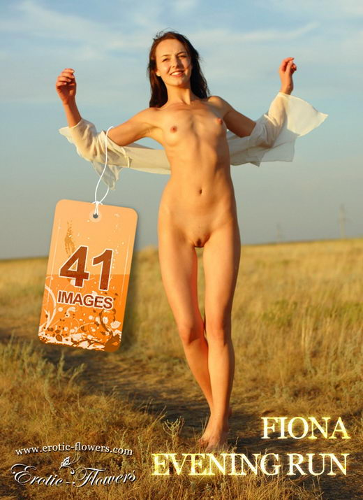 Fiona - `Evening Run` - for EROTIC-FLOWERS