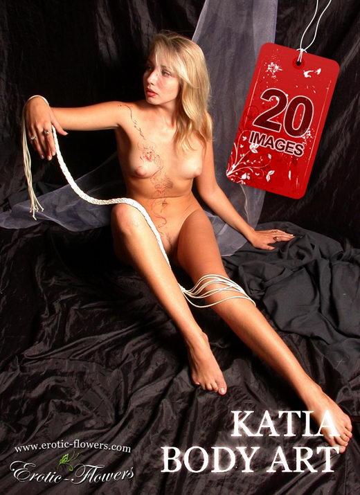 Katia - `Body Art` - for EROTIC-FLOWERS