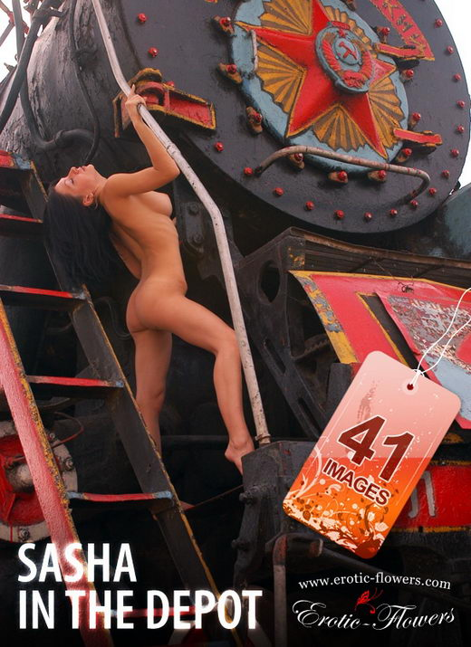 Sasha - `In The Depot` - for EROTIC-FLOWERS