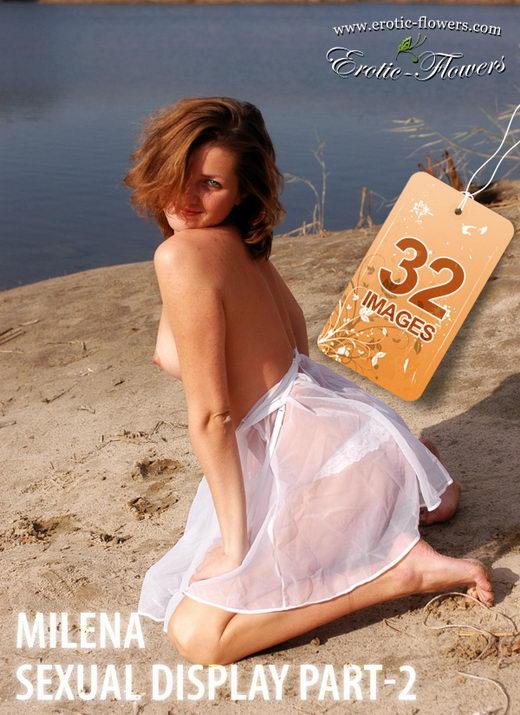 Milena - `Sexual Display Part-2` - for EROTIC-FLOWERS