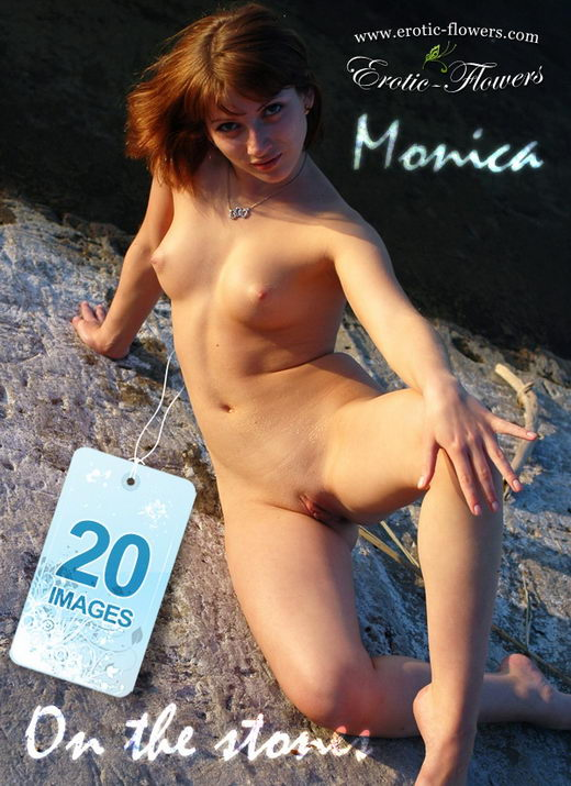 Monica - `On The Stones` - for EROTIC-FLOWERS