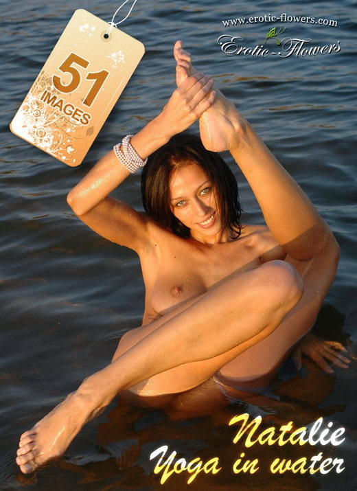 Natalie - `Yoga in water` - for EROTIC-FLOWERS
