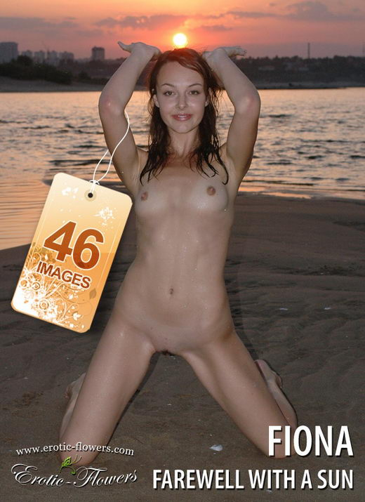 Fiona - `Farewell with a sun` - for EROTIC-FLOWERS