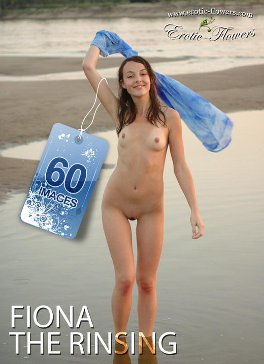 Fiona - `The rinsing` - for EROTIC-FLOWERS