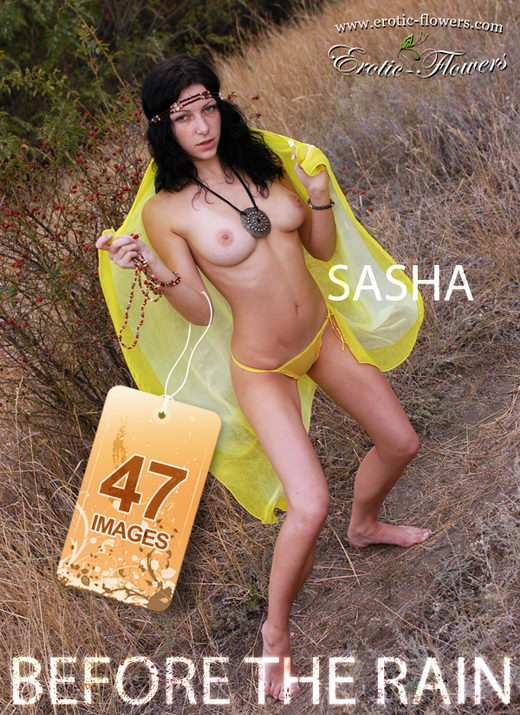 Sasha - `Before the rain` - for EROTIC-FLOWERS
