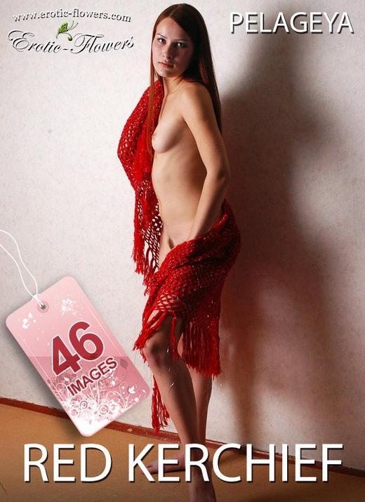 Pelageya - `Red kerchief` - for EROTIC-FLOWERS