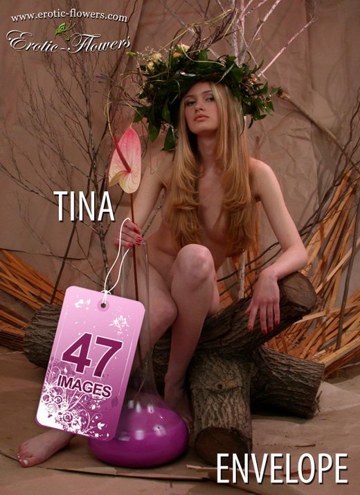 Tina - `Envelope` - for EROTIC-FLOWERS