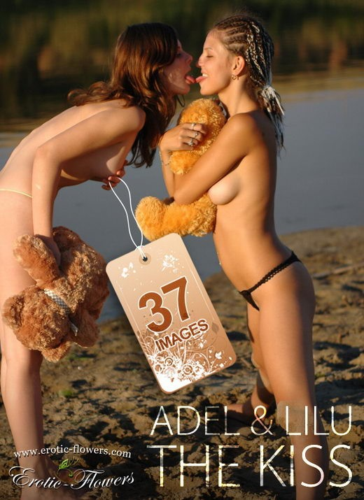 Adel & Lilu - `The Kiss` - for EROTIC-FLOWERS