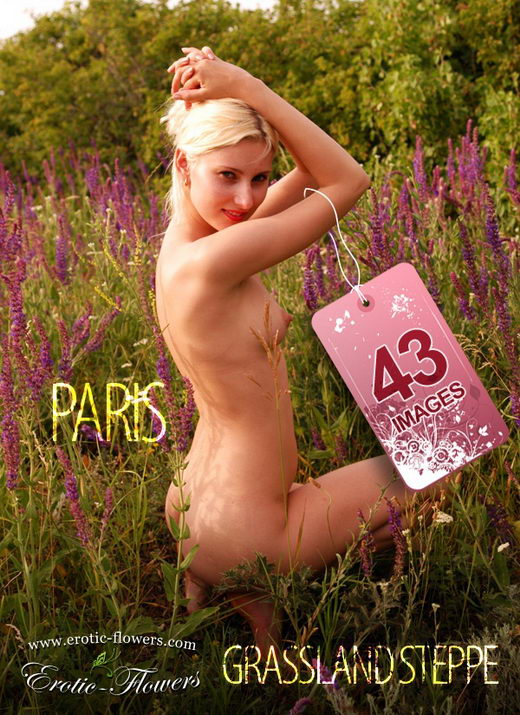 Paris - `Grassland steppe` - for EROTIC-FLOWERS