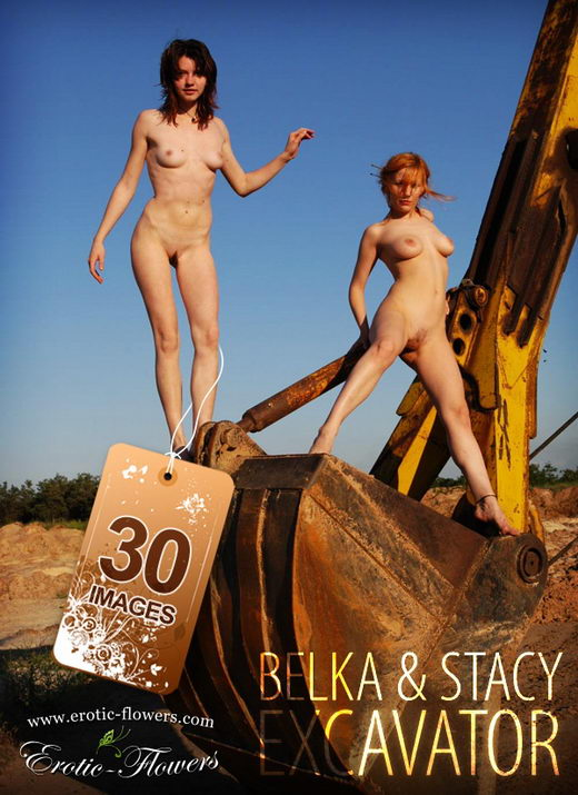 Belka & Stacy - `Excavator` - for EROTIC-FLOWERS