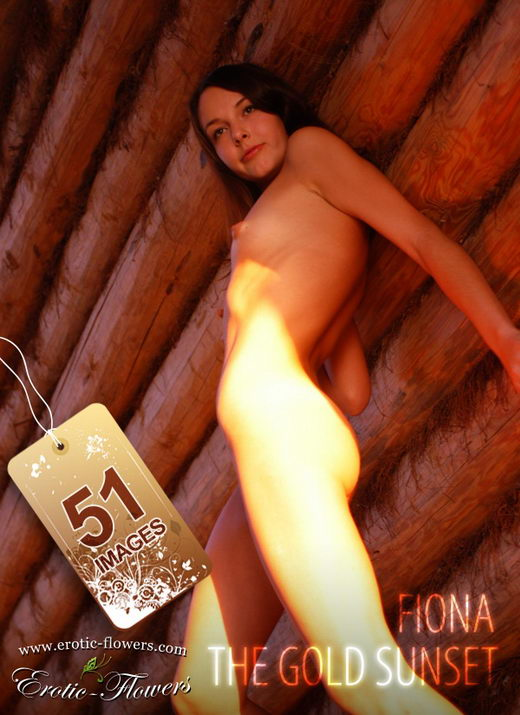 Fiona - `The gold sunset` - for EROTIC-FLOWERS