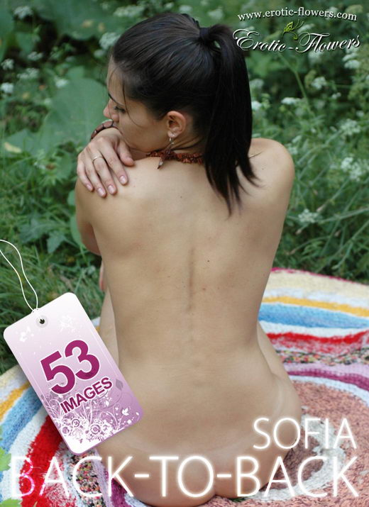 Sofia - `Back-to-back` - for EROTIC-FLOWERS