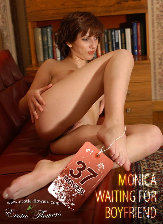 Monica - `Waiting for boyfriend` - for EROTIC-FLOWERS
