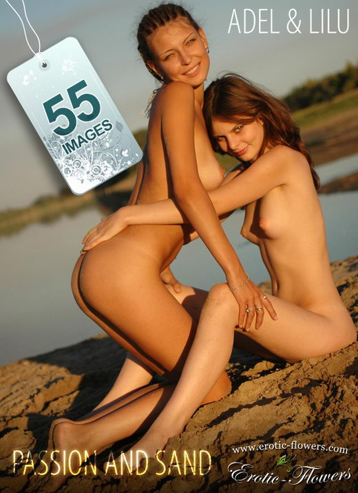 Adel & Lilu - `Passion and sand` - for EROTIC-FLOWERS