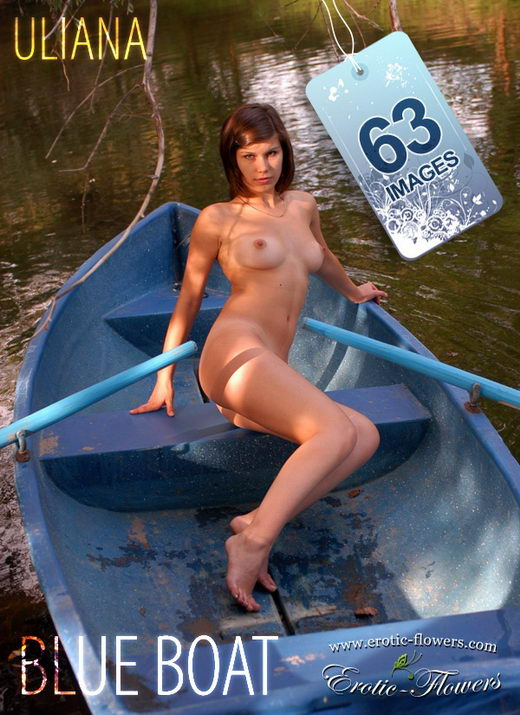 Uliana - `Blue Boat` - for EROTIC-FLOWERS