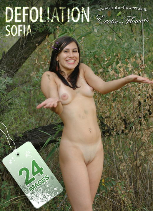 Sofia - `Defoliation` - for EROTIC-FLOWERS