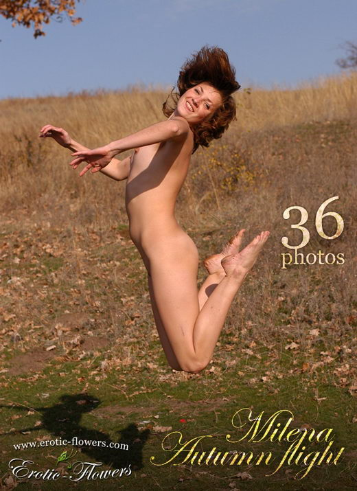 Milena - `Autumn Flight` - for EROTIC-FLOWERS