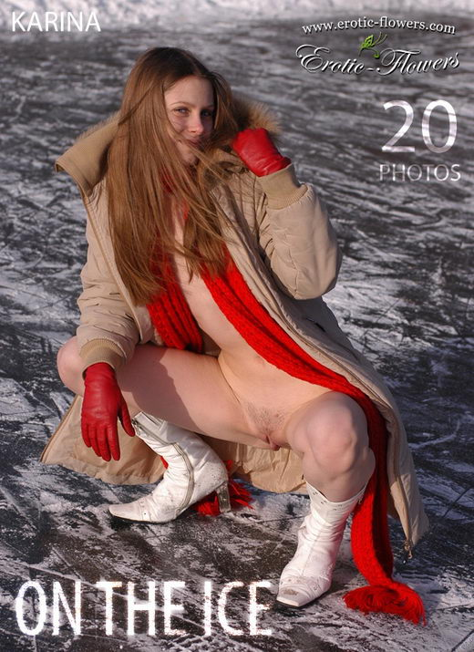 Karina - `On The Ice` - for EROTIC-FLOWERS