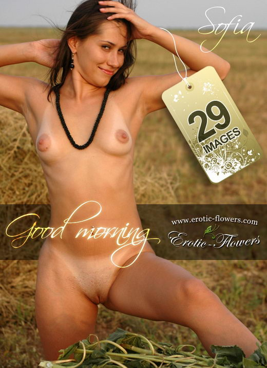 Sofia - `Good Morning` - for EROTIC-FLOWERS