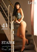 Leila in Stairs gallery from EROTIC-FLOWERS