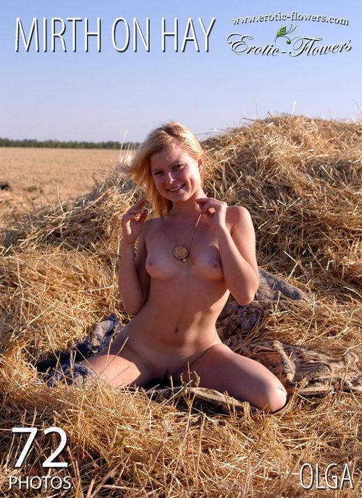 Olga - `Mirth On Hay` - for EROTIC-FLOWERS