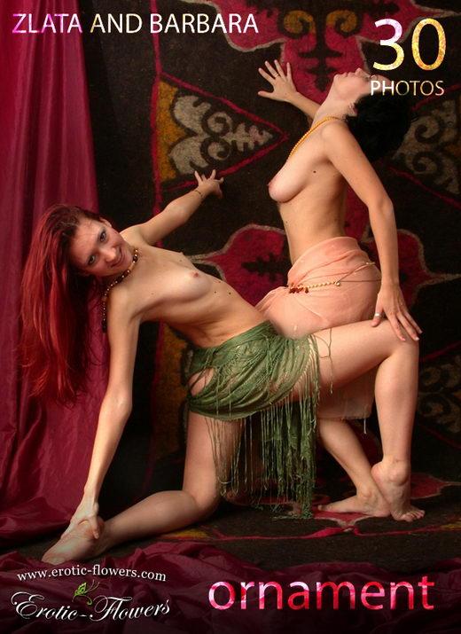 Zlata & Barbara - `Ornament` - for EROTIC-FLOWERS