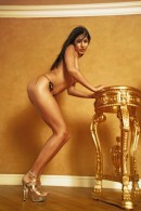 Gaby in Gold gallery from EROTICBEAUTY by Magoo