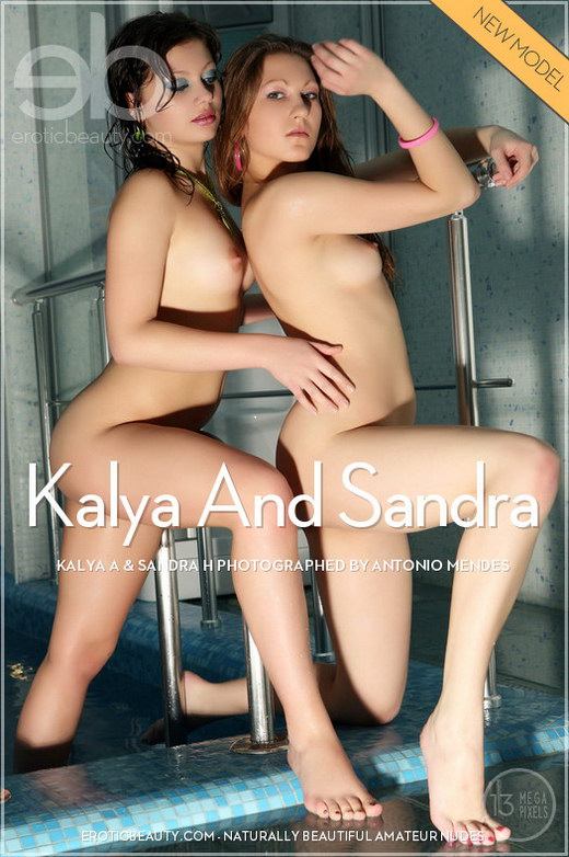 Kalya A & Sandra H - `Kalya & Sandra` - by Antonio Mendes for EROTICBEAUTY