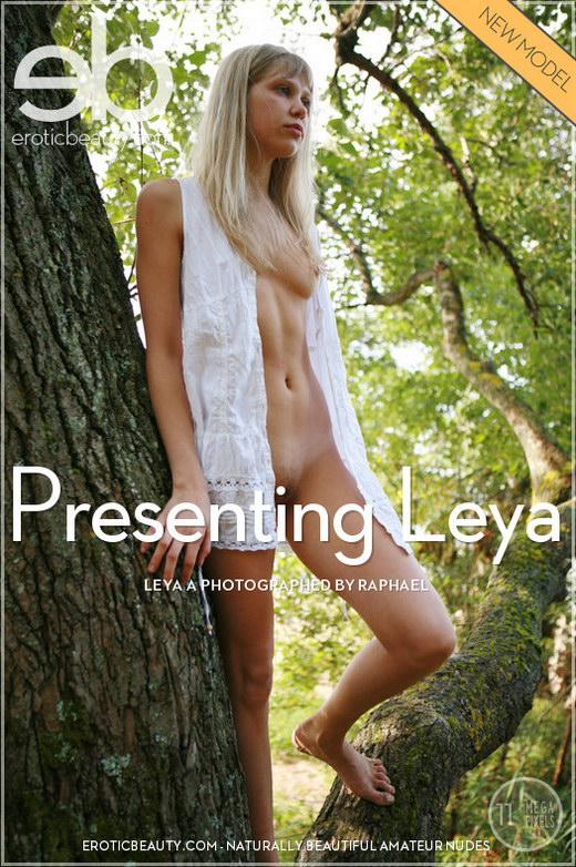 Leya A - `Presenting Leya` - by Raphael for EROTICBEAUTY