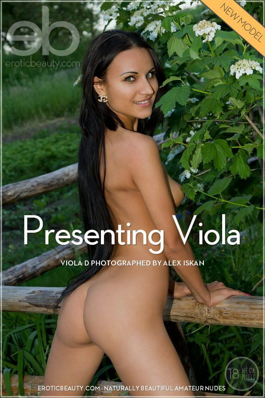 Viola D - `Presenting Viola` - by Alex Iskan for EROTICBEAUTY