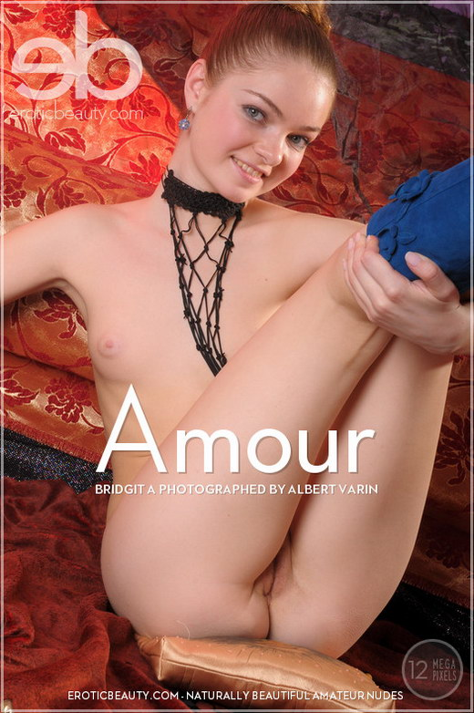 Bridgit A - `Amour` - by Albert Varin for EROTICBEAUTY