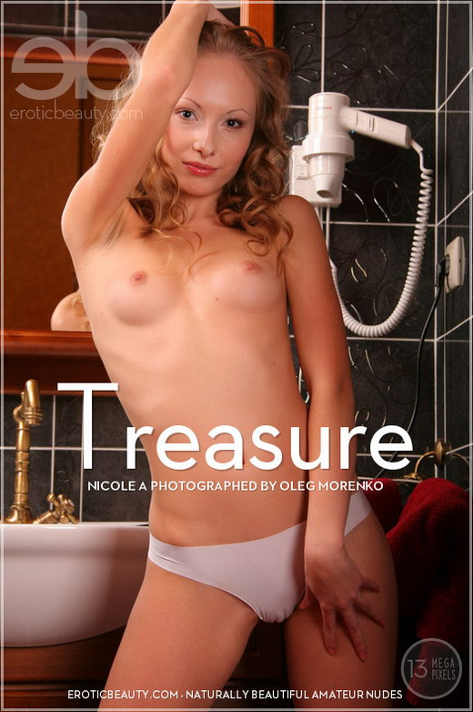 Nicole A - `Treasure` - by Oleg Morenko for EROTICBEAUTY