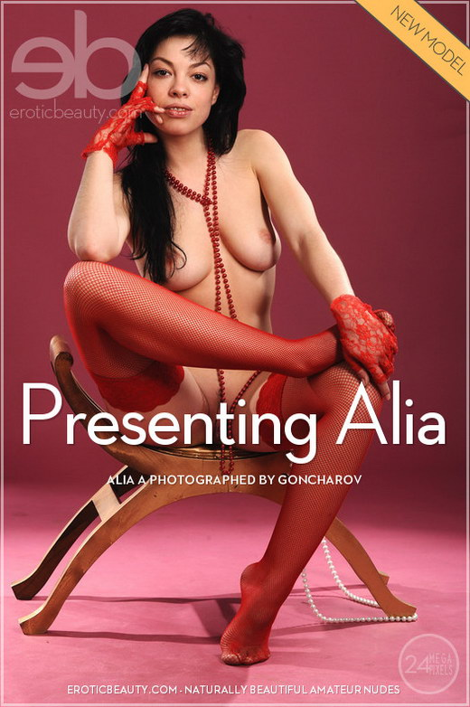 Alia A - `Presenting Alia` - by Goncharov for EROTICBEAUTY