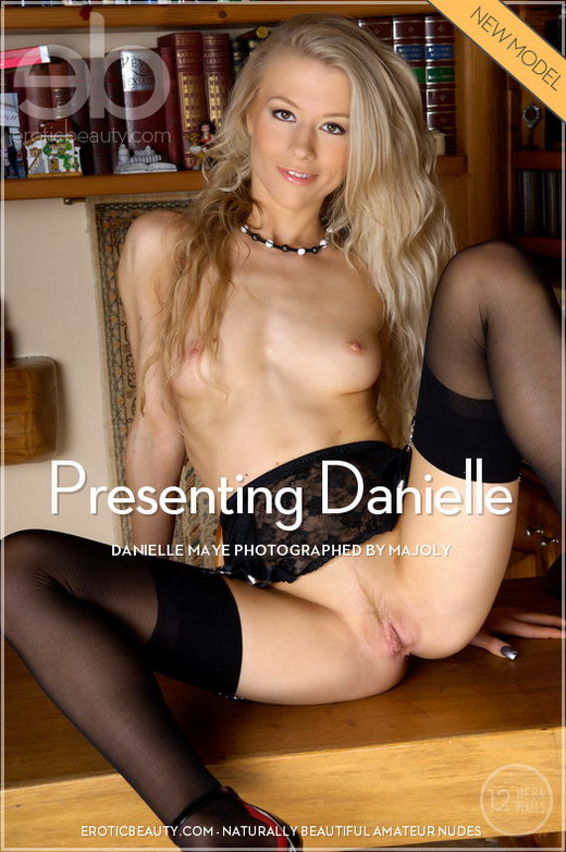 Danielle Maye - `Presenting Danielle` - by Majoly for EROTICBEAUTY