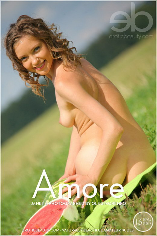 Janet A - `Amore` - by Oleg Morenko for EROTICBEAUTY