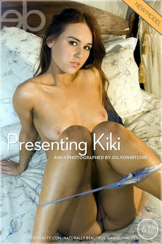 Kiki A - `Presenting Kiki` - by Jolyon Ritchie for EROTICBEAUTY