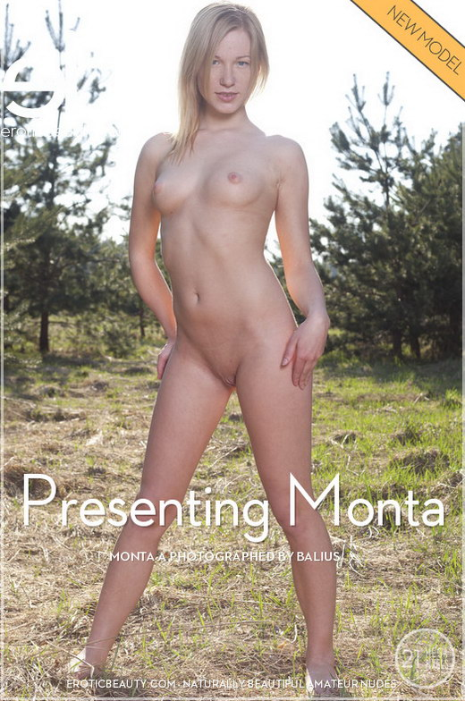 Monta A - `Presenting Monta` - by Balius for EROTICBEAUTY