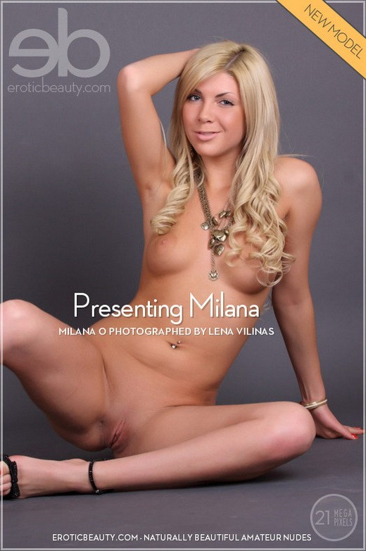 Milana - `Presenting Milana` - by Lena Vilinas for EROTICBEAUTY