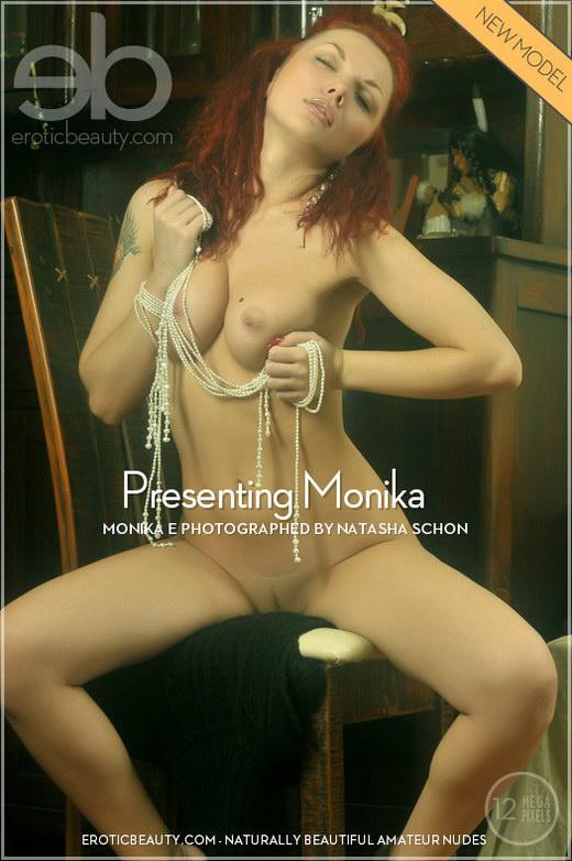 Monika E - `Presenting Monika` - by Natasha Schon for EROTICBEAUTY