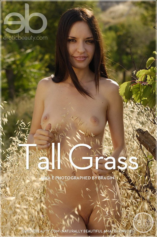 Nika E - `Tall Grass` - by Bragin for EROTICBEAUTY