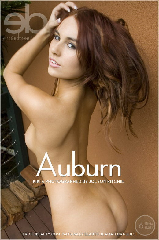 Kiki A - `Auburn` - by Jolyon Ritchie for EROTICBEAUTY