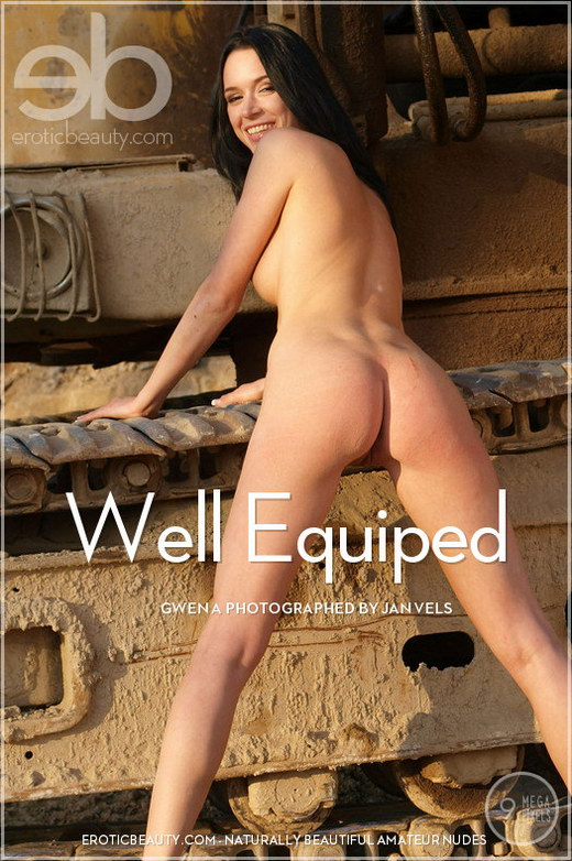 Gwen A - `Well Equiped` - by Jan Vels for EROTICBEAUTY