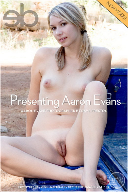 Aaron Evans - `Presenting Aaron Evans` - by Dave Preston for EROTICBEAUTY